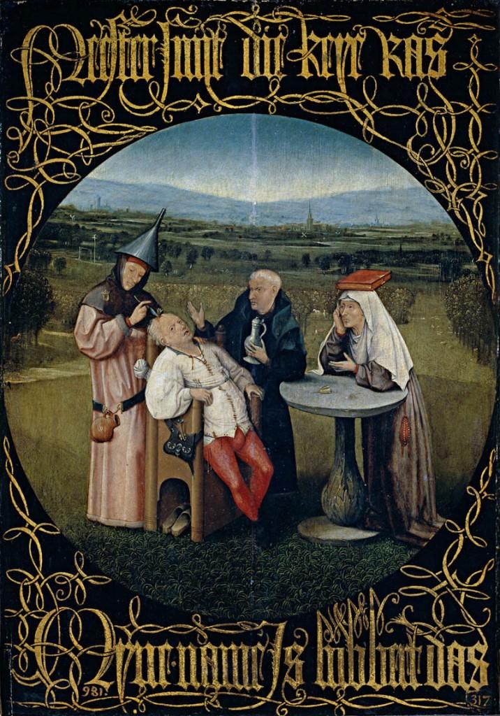 xtração da pedra da loucura Hieronymus_Bosch