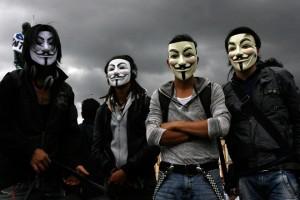 anonymous protestos 2013