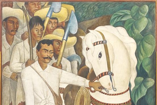 7 de agosto Emiliano Zapata por Diego Riveira foto 1