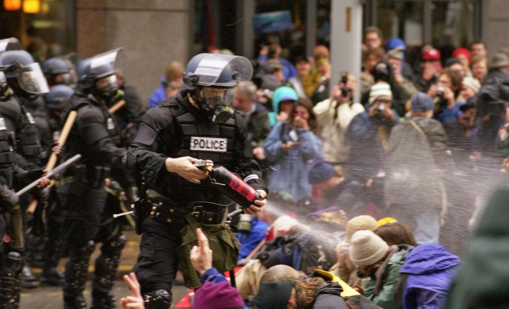 protestos seattle omc 1999