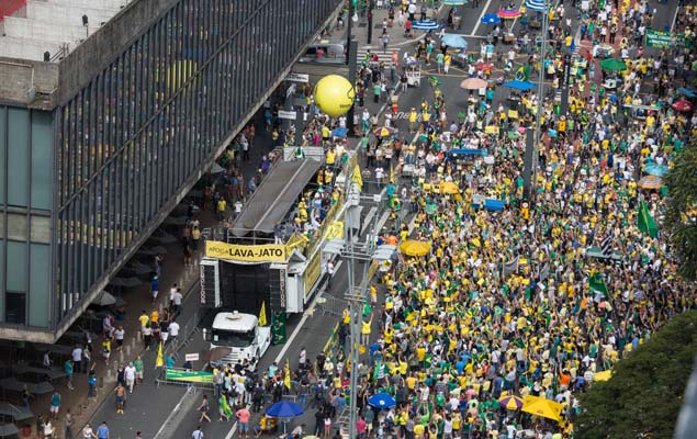 protestos direita 2017