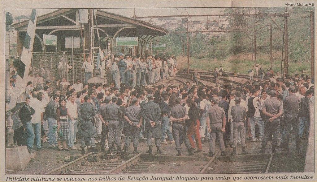 cptm protestos 1996