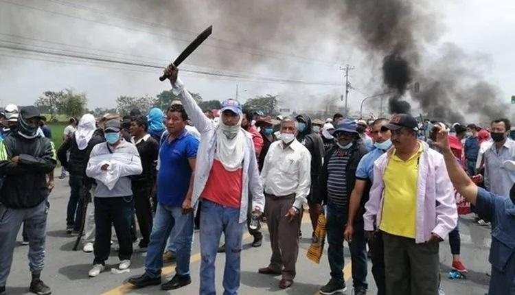 protestos américa latina